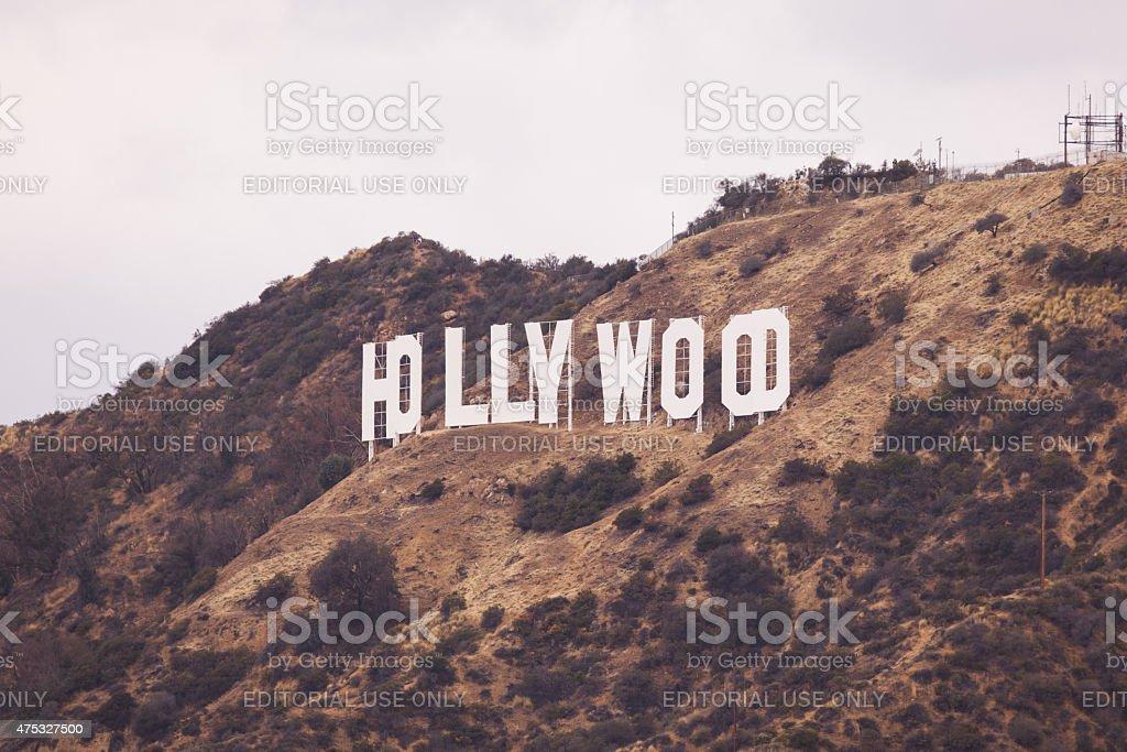 Hollywood California Sign stock photo