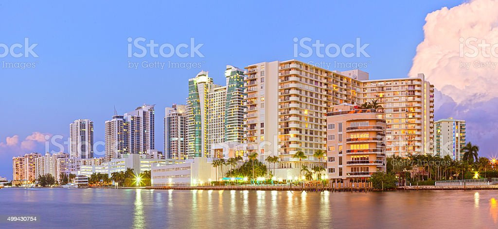 Hollywood Florida stock photo