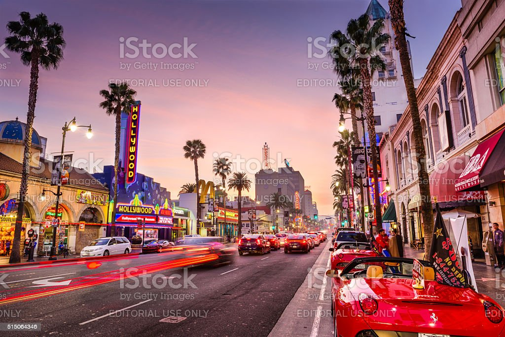 Hollywood, Los Angeles stock photo