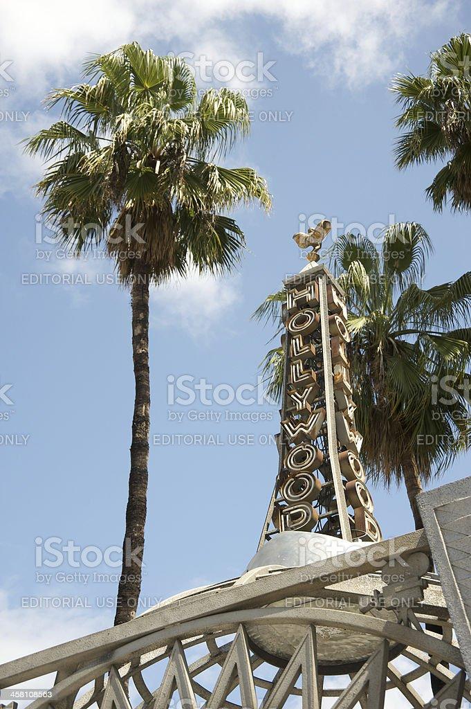 Hollywood royalty-free stock photo