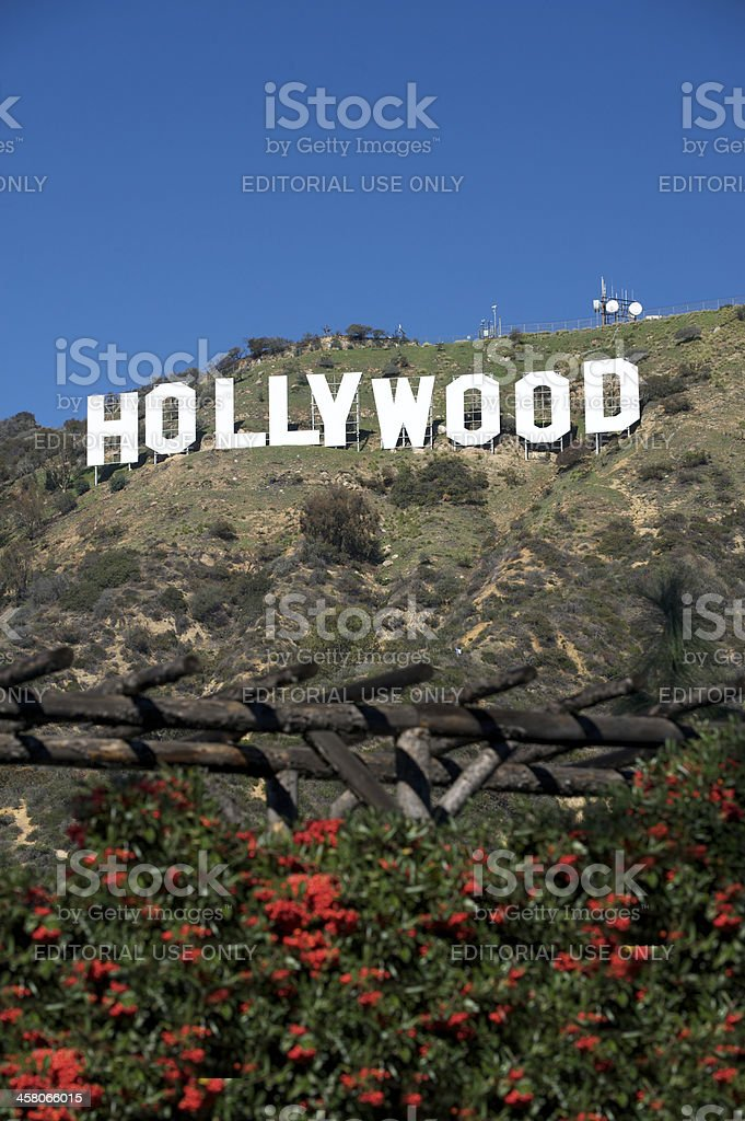 Hollywood Sign royalty-free stock photo