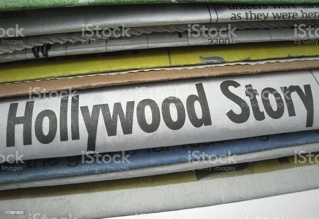 Hollywood Story stock photo