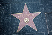 Hollywood Walk Of Fame Star Mike Douglas