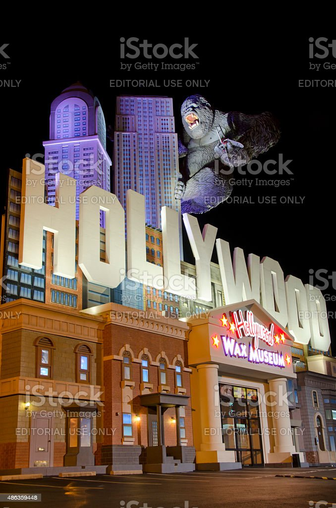 Hollywood Wax Museum in Branson, Missouri stock photo