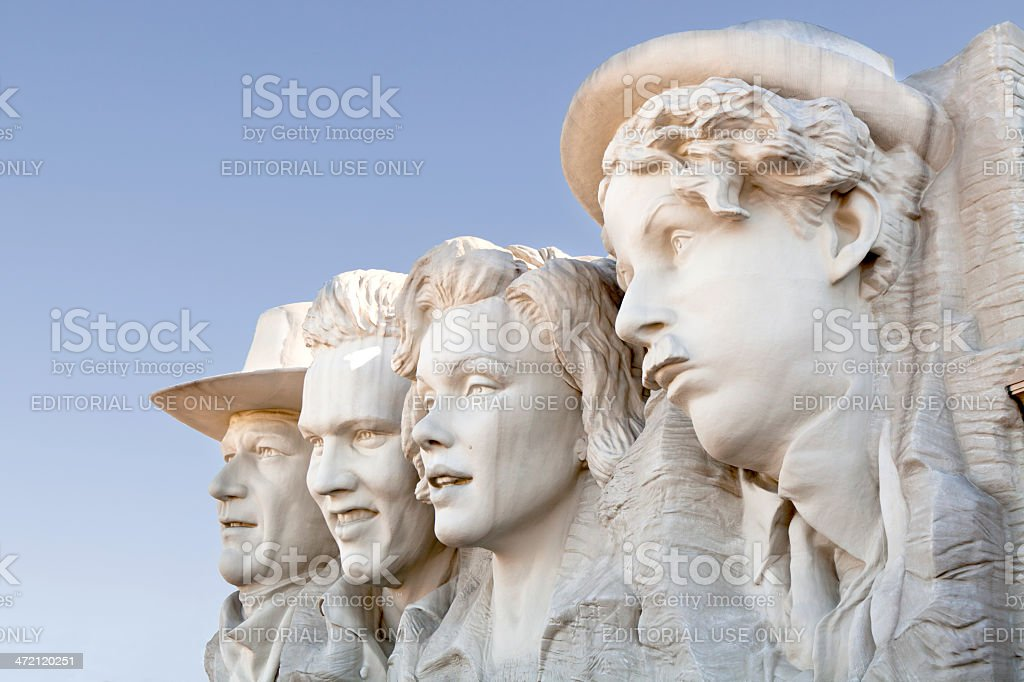 Hollywood Wax Museum in Pigeon Forge, Tennessee stock photo