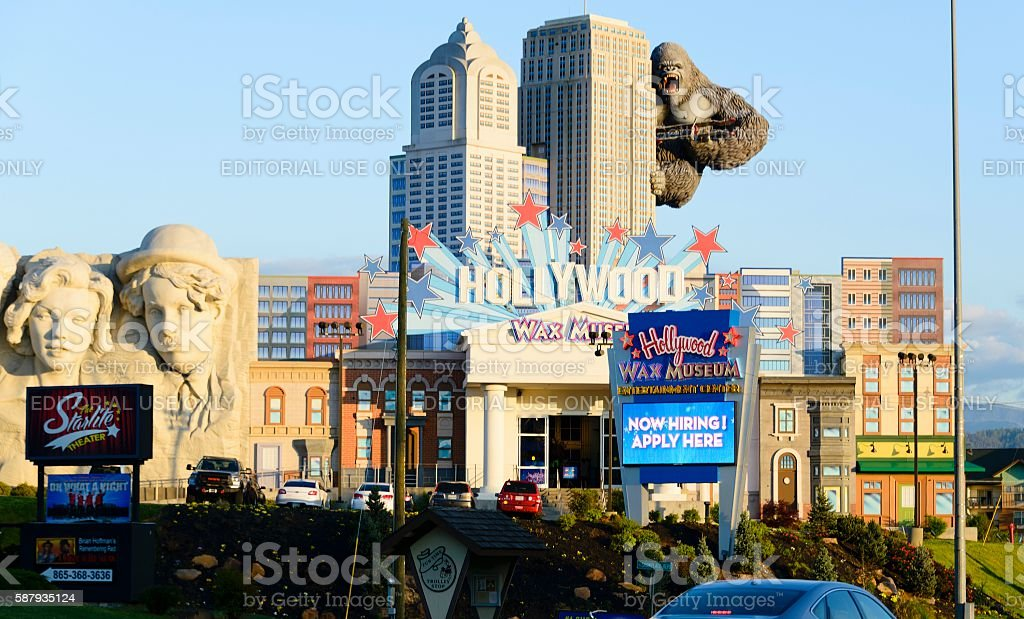 Hollywood Wax Museum, Pigeon Forge stock photo