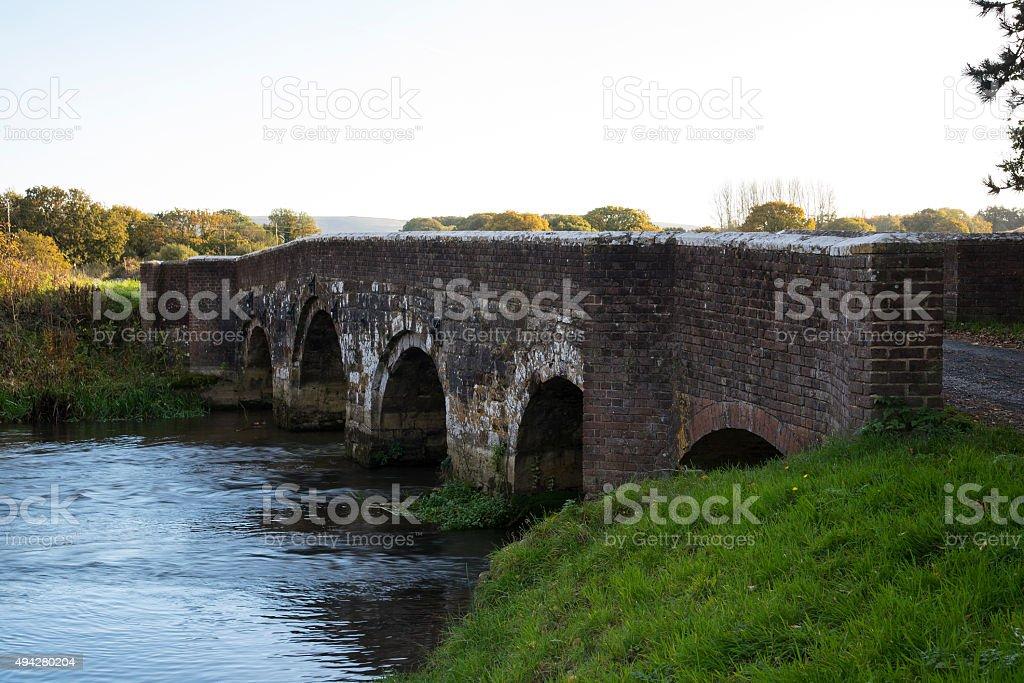 Holmebridge, near Wareham, Dorset royalty-free stock photo