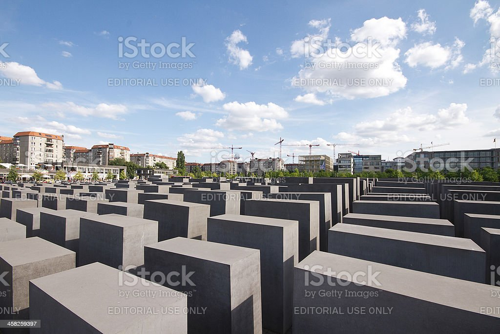 Holocaust Memorial royalty-free stock photo