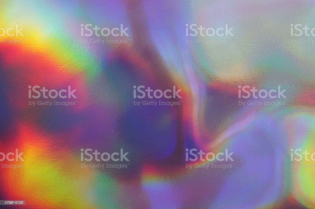 Holographic texture stock photo
