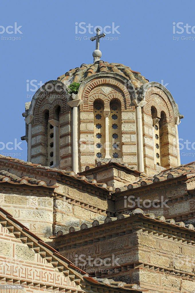 Holy Apostles Church Dome royalty-free stock photo