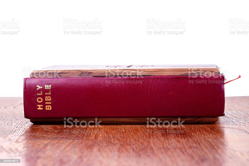 Holy Bible. stock photo