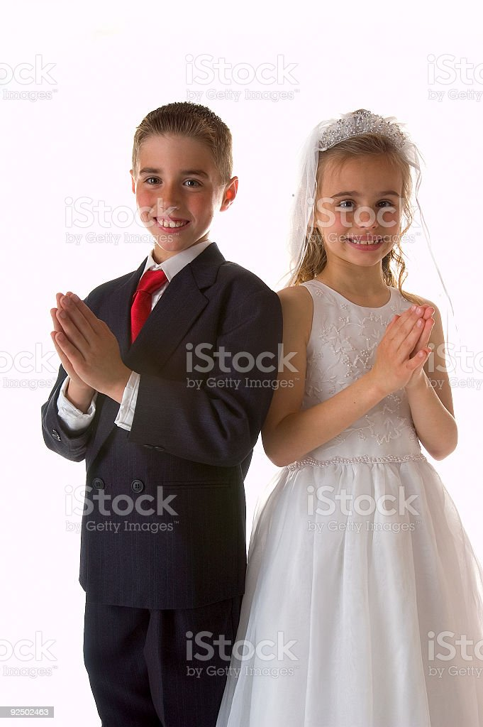Holy Communion 2 stock photo
