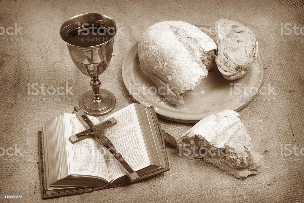 Holy Communion. royalty-free stock photo