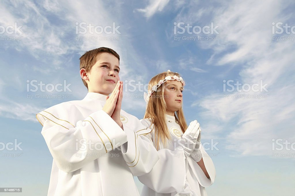 holy communion stock photo