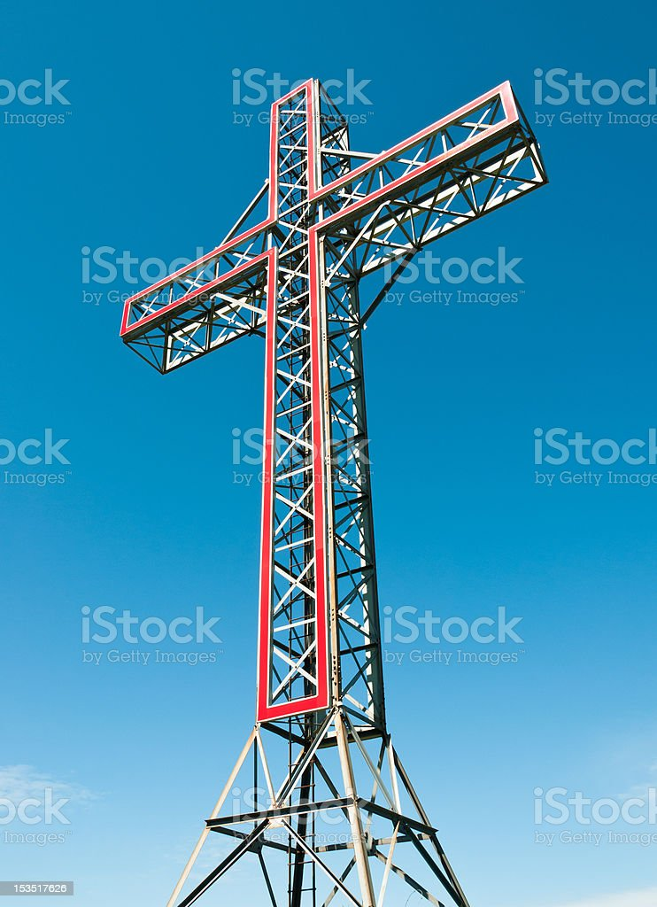 Holy cross monument royalty-free stock photo