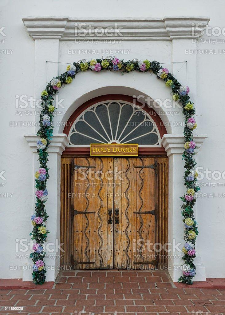 Holy Doors stock photo