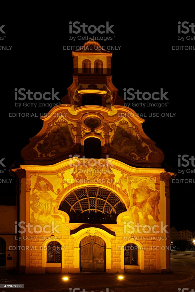 Holy Ghost Spital, Fussen royalty-free stock photo