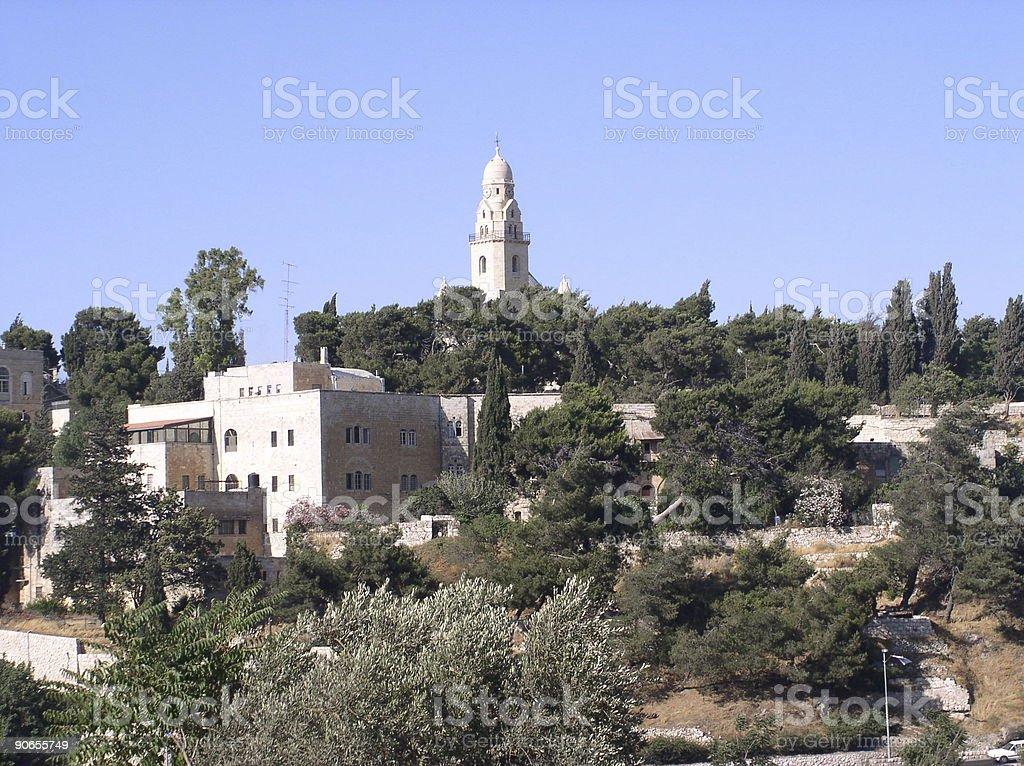 Holy Jerusalem royalty-free stock photo