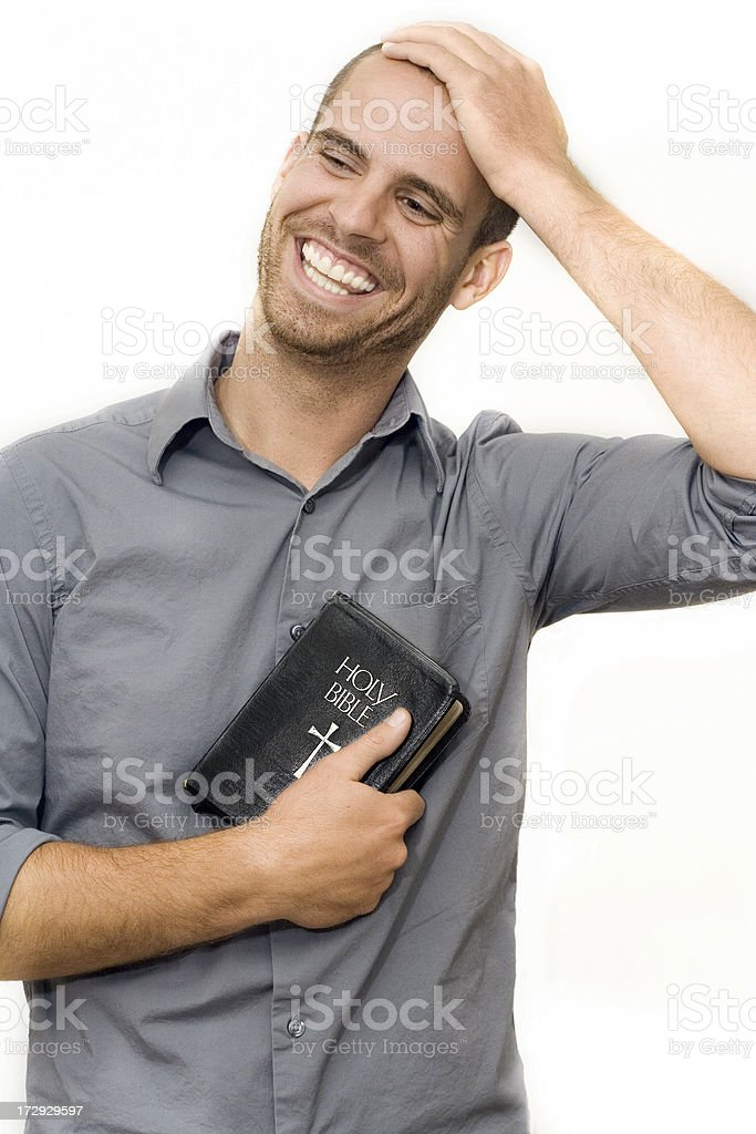 Holy Laughter royalty-free stock photo