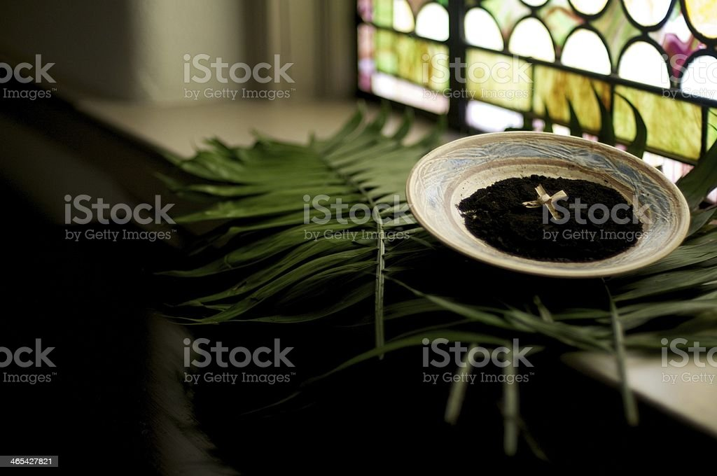 Holy Lent stock photo