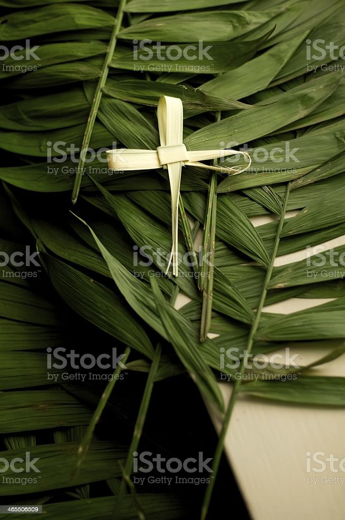 Holy Lent royalty-free stock photo