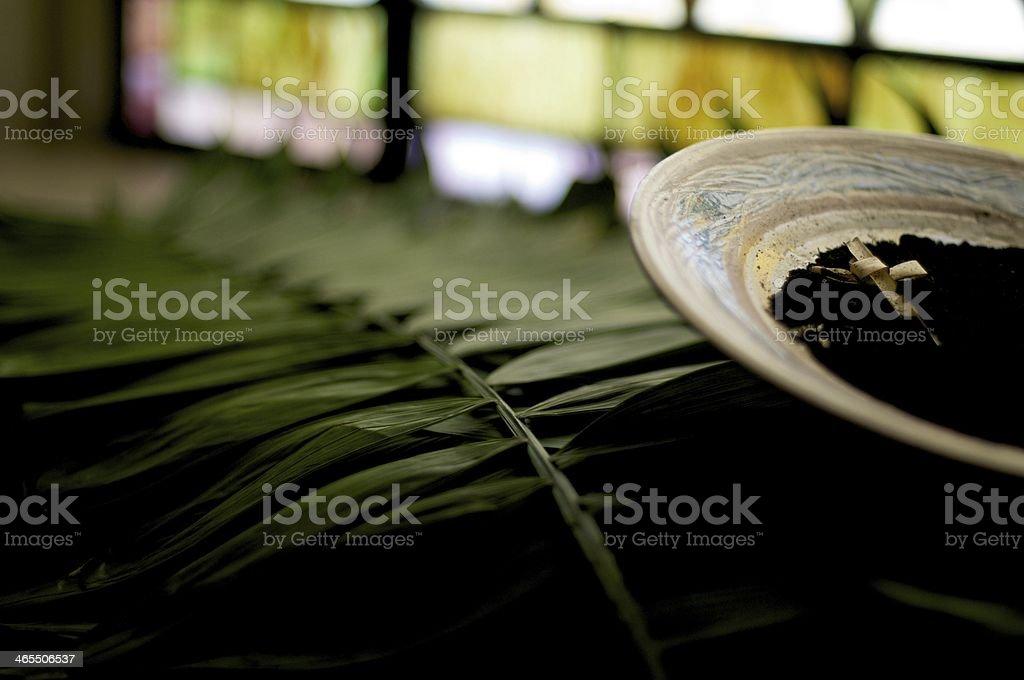 Holy Lent stock photo
