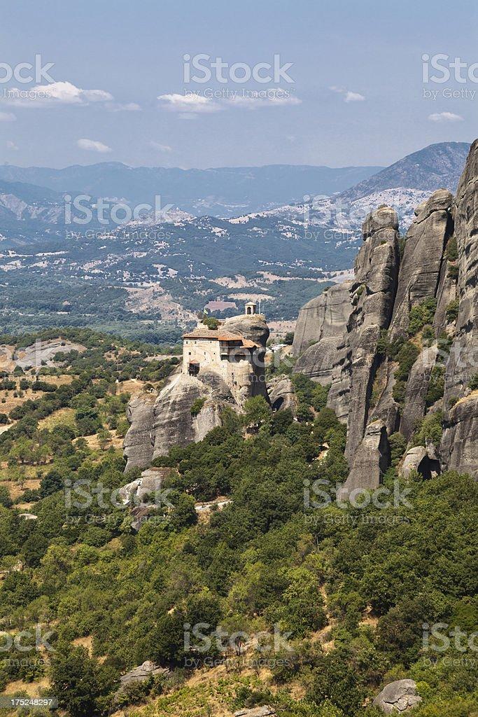 Holy Monastery of St. Nicholas Anapausas stock photo