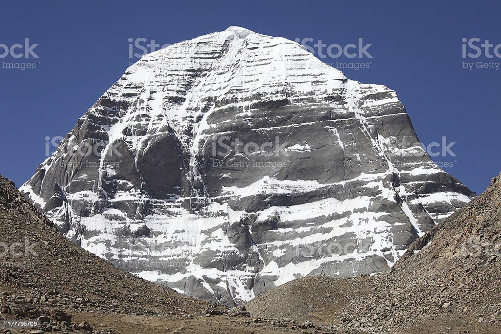 Holy Mount Kailash royalty-free stock photo