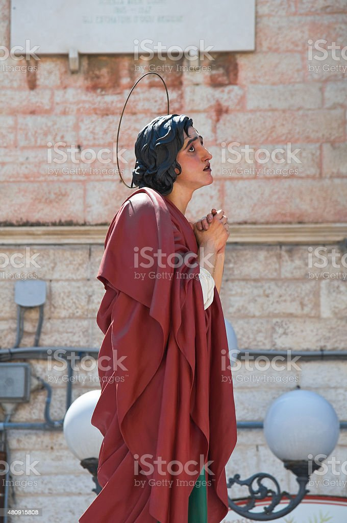Holy procession. stock photo