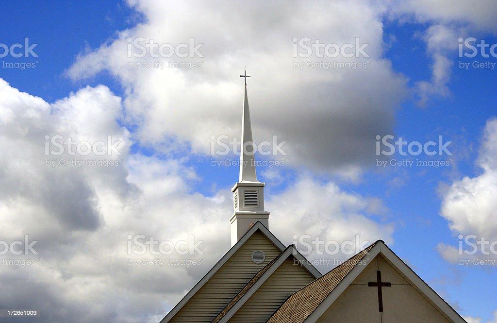 Holy Sky royalty-free stock photo