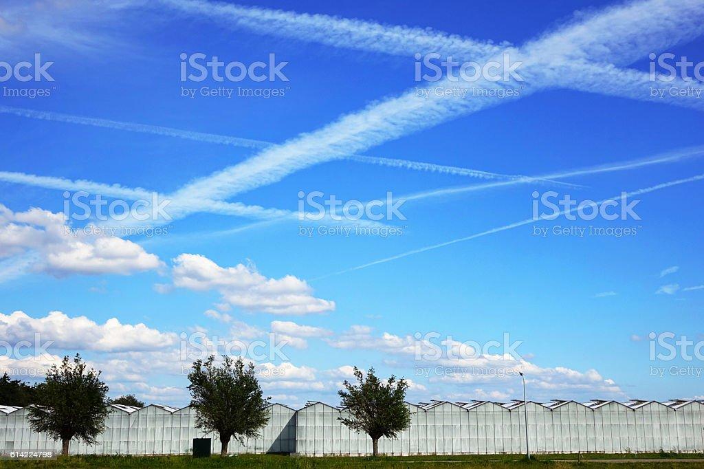 holy sky stock photo