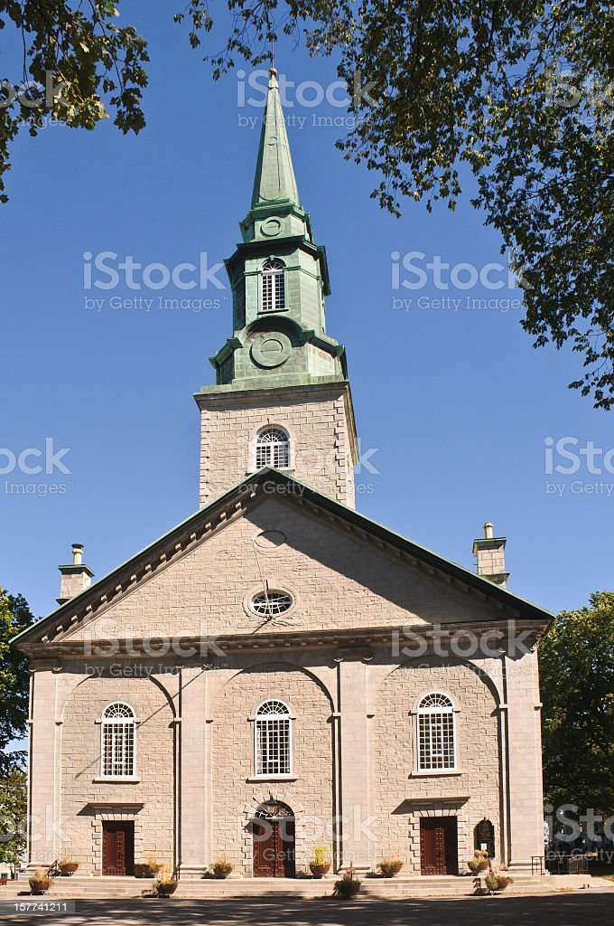 Holy Trinity Anglican Cathedral stock photo