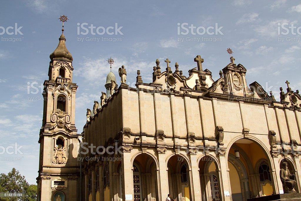 Holy Trinity Cathedral, Addis Ababa stock photo