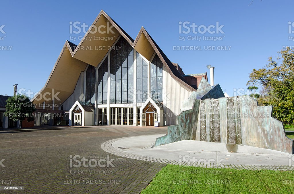 Holy Trinity Cathedral, Auckland stock photo