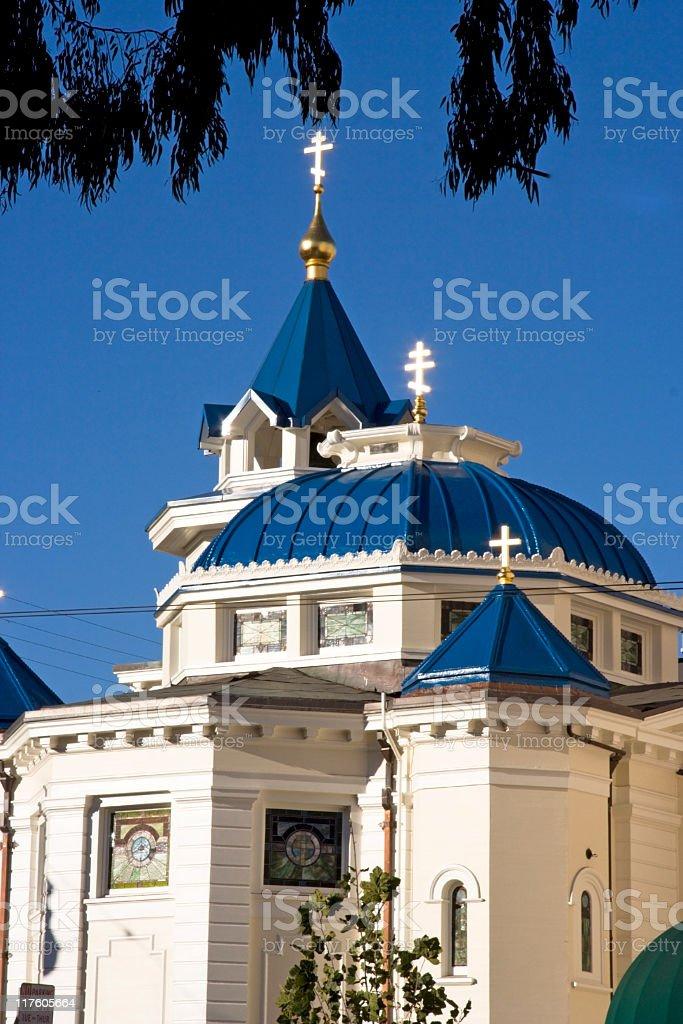 Holy Trinity Cathedral stock photo