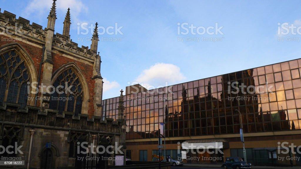 Holy Trinity Church, Kingston upon Hull stock photo