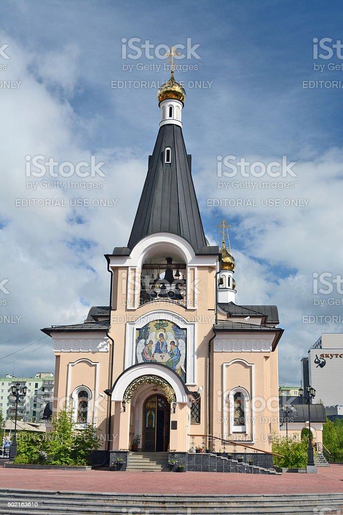 Holy - Trinity Church stock photo
