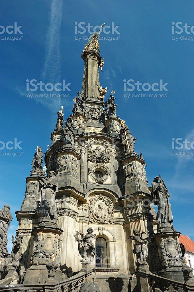 Holy Trinity Column in Olomouc royalty-free stock photo
