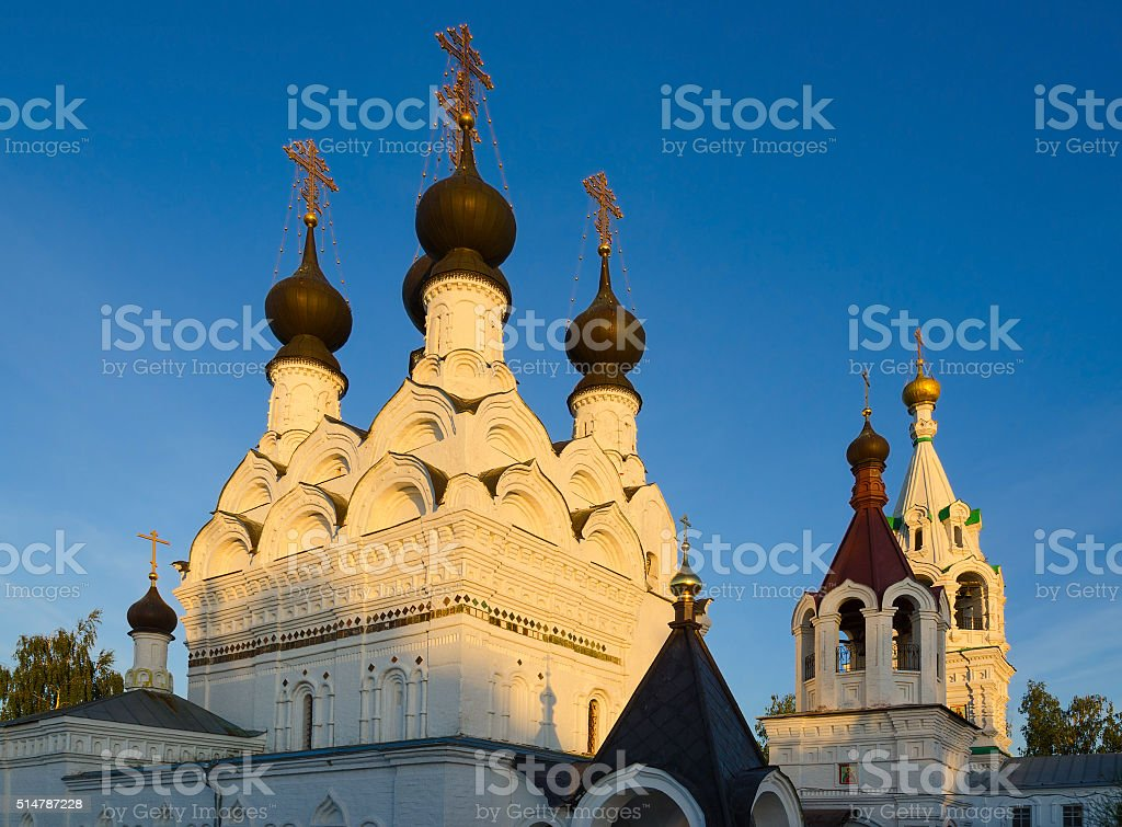 Holy Trinity Convent, Murom, Russia stock photo