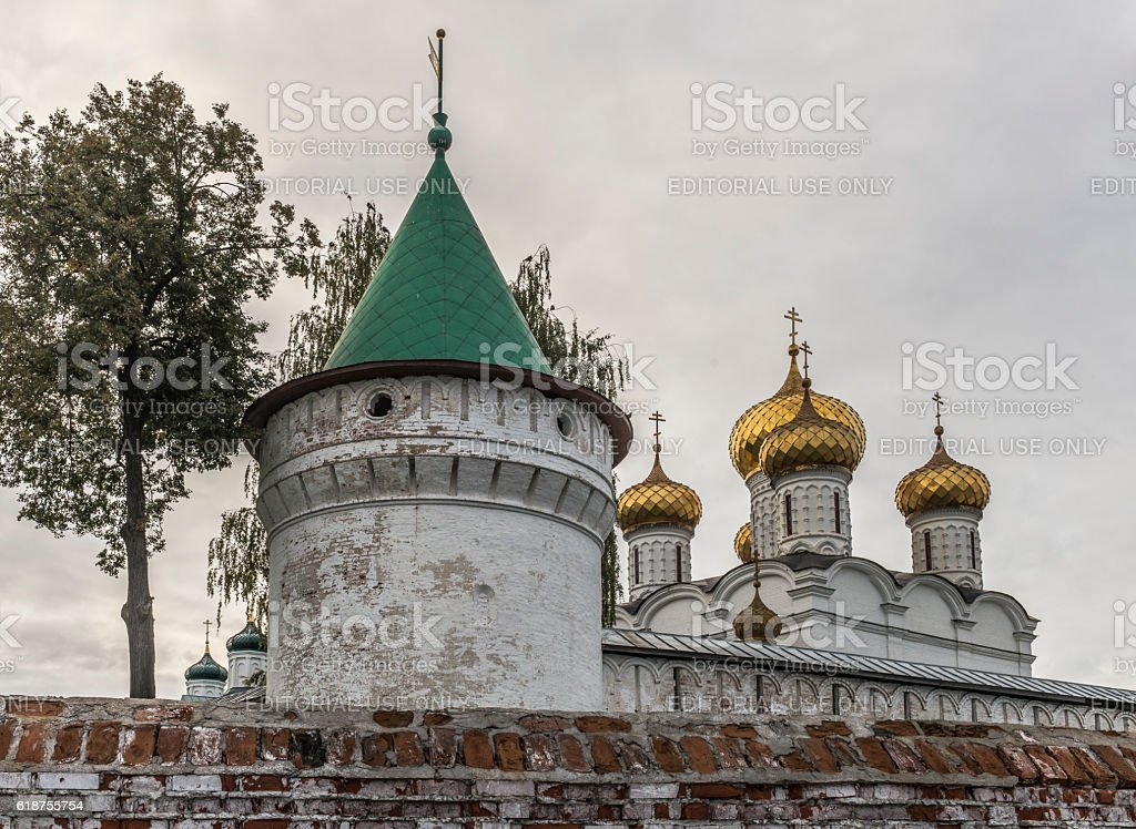 Holy Trinity Monastery Ipatiev stock photo
