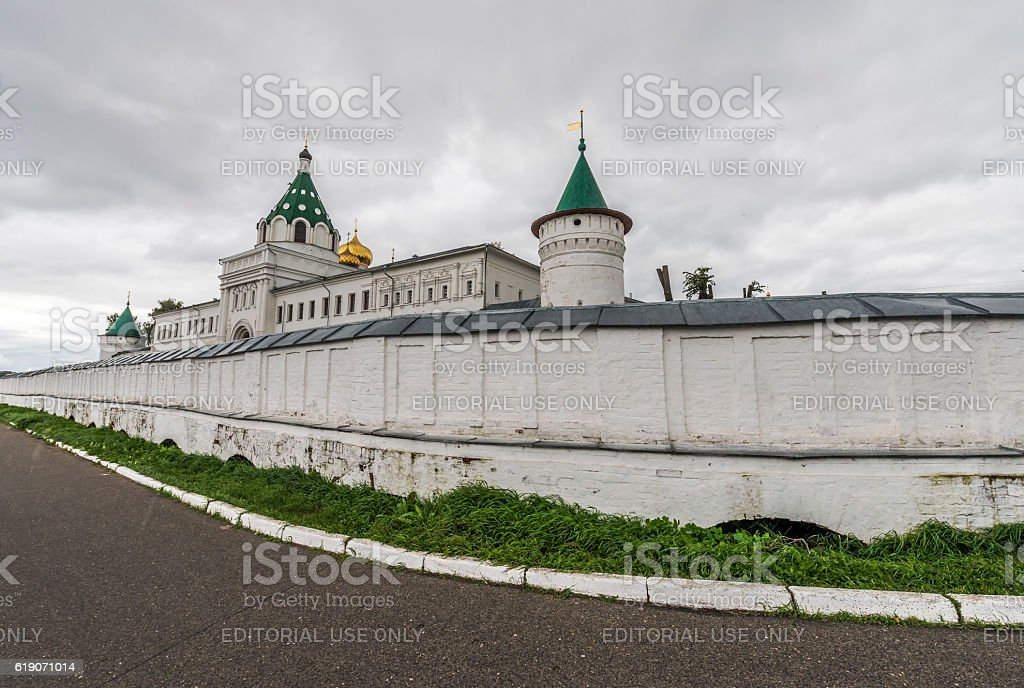 Holy Trinity Monastery Ipatiev. stock photo