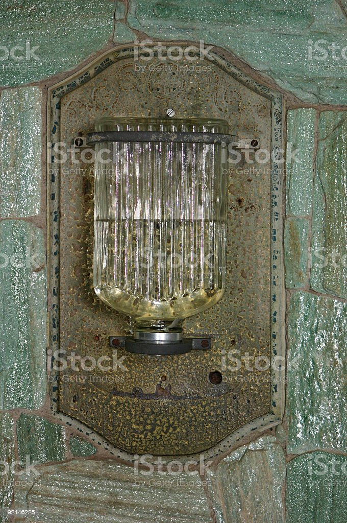 Holy Water Bottle royalty-free stock photo