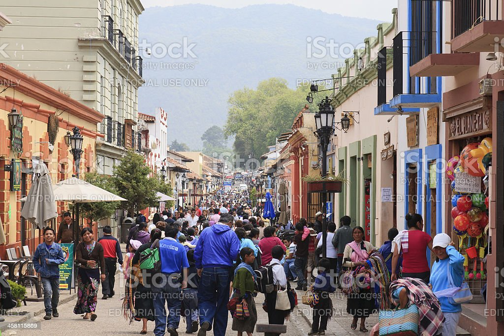 Holy week celebrations in Mexico stock photo