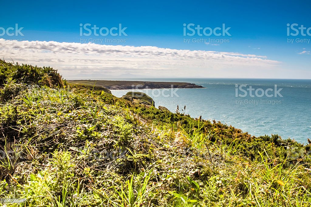 Holyhead in Wales stock photo