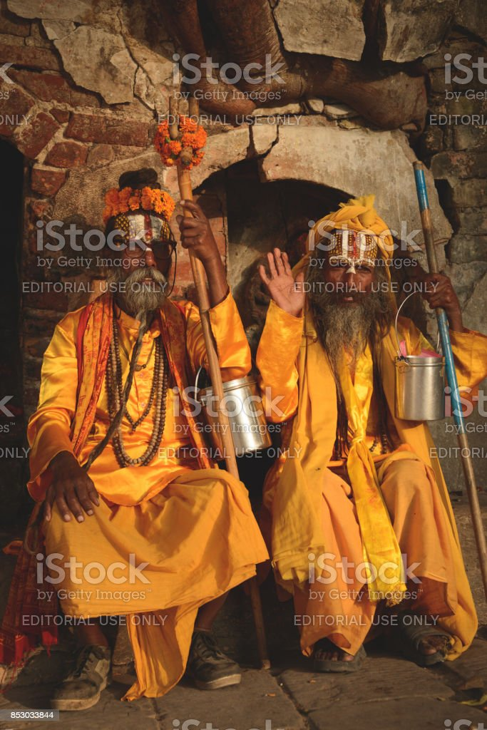 Holymen stock photo