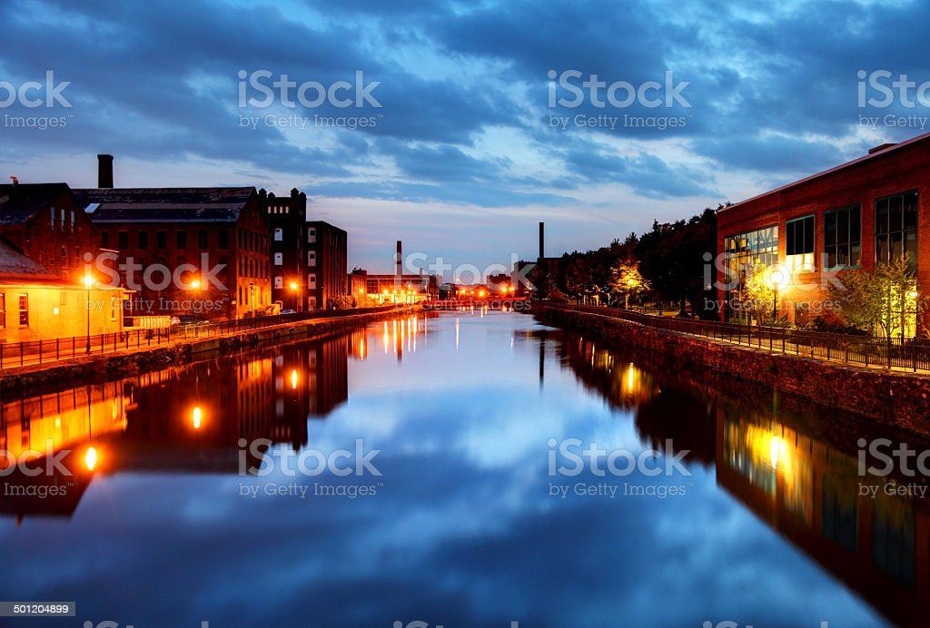 Holyoke, Massachusetts stock photo