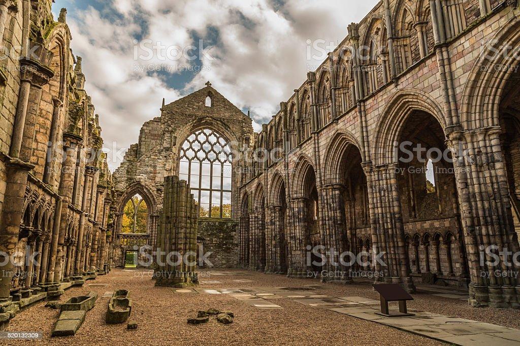 Holyrood Abbey stock photo