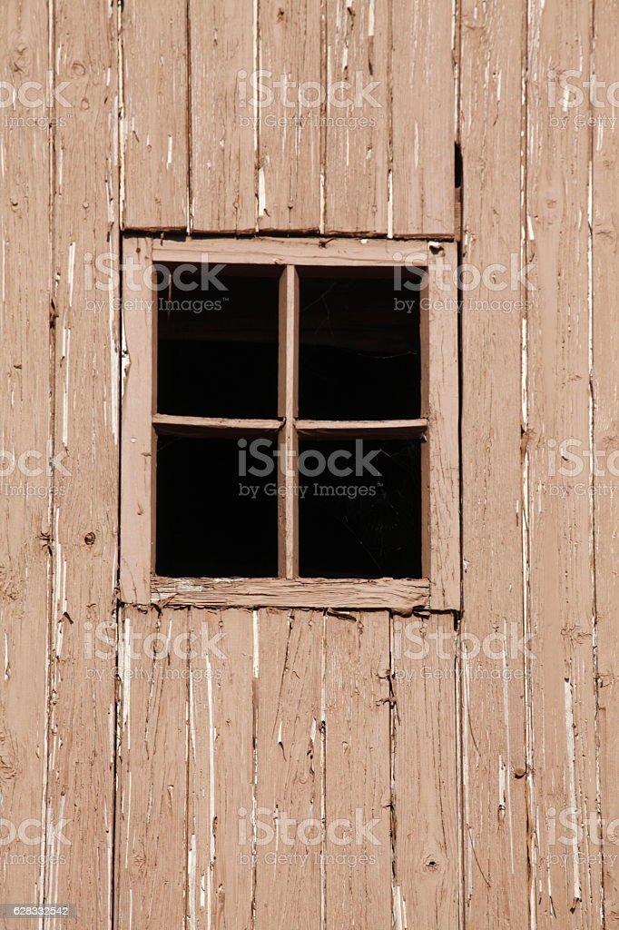 Holzfenster stock photo