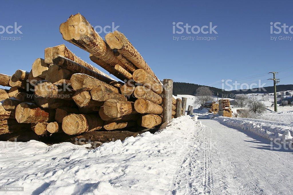 Holzwirtschaft royalty-free stock photo