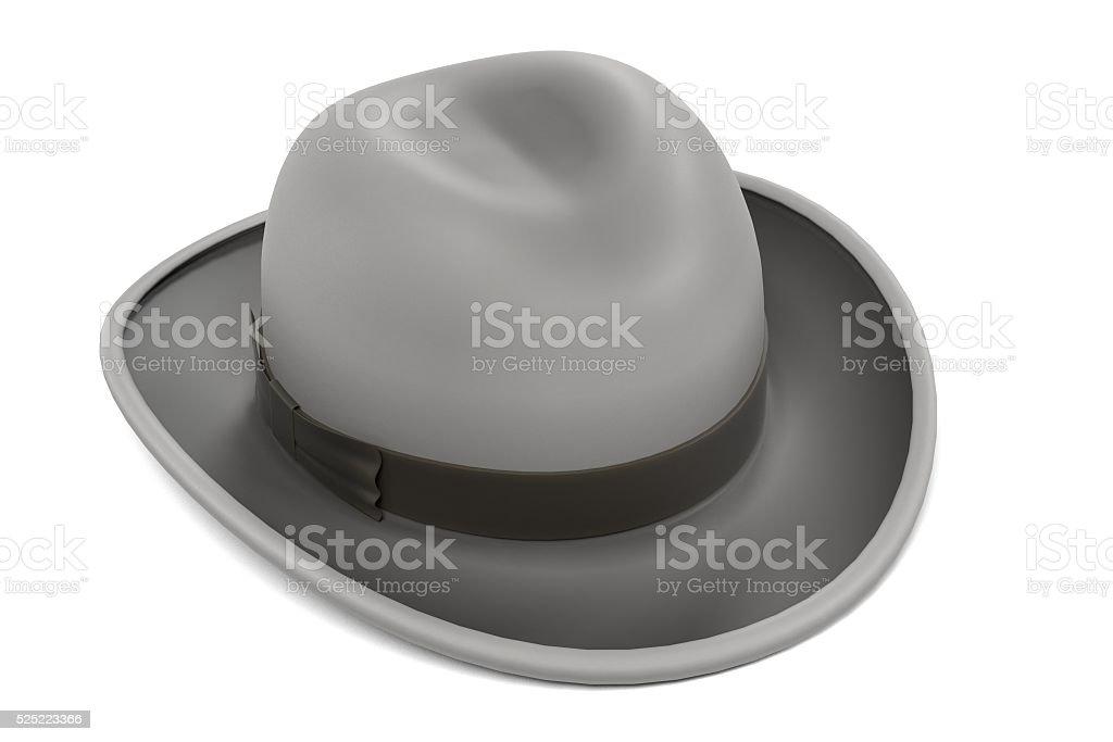 homburg hat stock photo